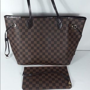Louis Vuitton neverfull damier bag mm
